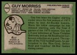 1978 Topps #468  Guy Morriss  Back Thumbnail