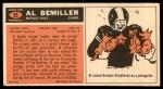 1965 Topps #25  Al Bemiller  Back Thumbnail