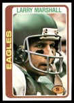 1978 Topps #358  Larry Marshall  Front Thumbnail