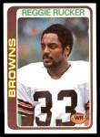 1978 Topps #473  Reggie Rucker  Front Thumbnail