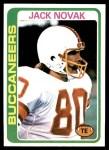 1978 Topps #294  Jack Novak  Front Thumbnail