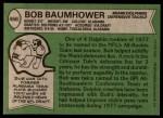 1978 Topps #466  Bob Baumhower  Back Thumbnail