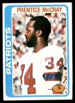 1978 Topps #421  Prentice McCray  Front Thumbnail