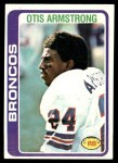1978 Topps #465  Otis Armstrong  Front Thumbnail