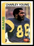 1978 Topps #435  Charley Young  Front Thumbnail