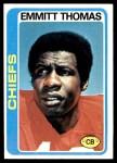 1978 Topps #426  Emmitt Thomas  Front Thumbnail