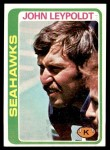 1978 Topps #293  John Leypoldt  Front Thumbnail