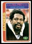 1978 Topps #90  Gene Upshaw  Front Thumbnail