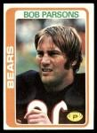 1978 Topps #457  Bob Parsons  Front Thumbnail