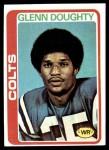 1978 Topps #458  Glenn Doughty  Front Thumbnail