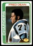 1978 Topps #217  Fred Dean  Front Thumbnail