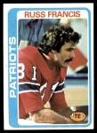 1978 Topps #95  Russ Francis  Front Thumbnail