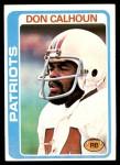 1978 Topps #281  Don Calhoun  Front Thumbnail