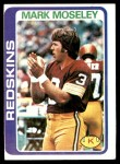 1978 Topps #396  Mark Moseley  Front Thumbnail