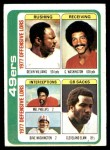 1978 Topps #525   49ers Leaders Checklist Front Thumbnail