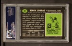 1969 Topps #25  Johnny Unitas  Back Thumbnail