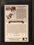 1972 Kellogg All Time Greats #2  Rogers Hornsby  Back Thumbnail