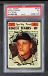1961 Topps #576   -  Roger Maris All-Star Front Thumbnail