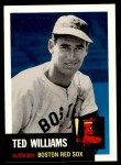 1953 Topps Archives #319  Ted Williams  Front Thumbnail