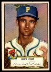 1952 Topps #63 RED Howie Pollet  Front Thumbnail