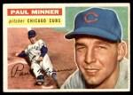 1956 Topps #182  Paul Minner  Front Thumbnail