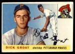 1955 Topps #26  Dick Groat  Front Thumbnail