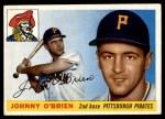 1955 Topps #135  John O'Brien  Front Thumbnail