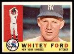 1960 Topps #35  Whitey Ford  Front Thumbnail