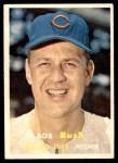 1957 Topps #137  Bob Rush  Front Thumbnail