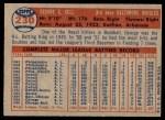 1957 Topps #230  George Kell  Back Thumbnail