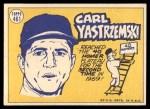 1970 Topps #461   -  Carl Yastrzemski All-Star Back Thumbnail