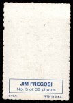 1969 Topps Deckle Edge #5  Jim Fregosi    Back Thumbnail