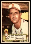 1952 Topps #102  Bill Kennedy  Front Thumbnail
