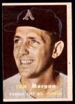 1957 Topps #239  Tom Morgan  Front Thumbnail