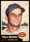 1953 Topps #95  Willard Marshall  Front Thumbnail