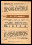 1976 O-Pee-Chee WHA #122  Wayne Connelly  Back Thumbnail