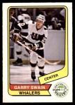 1976 O-Pee-Chee WHA #91  Garry Swain  Front Thumbnail