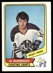 1976 O-Pee-Chee WHA #77  Al McDonough  Front Thumbnail