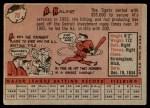 1958 Topps #70 WN Al Kaline  Back Thumbnail