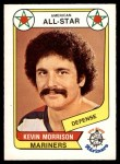1976 O-Pee-Chee WHA #68   -  Kevin Morrison All-Star Front Thumbnail
