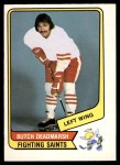 1976 O-Pee-Chee WHA #53  Butch Deadmarsh  Front Thumbnail