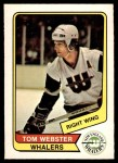 1976 O-Pee-Chee WHA #14  Tom Webster  Front Thumbnail