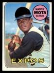1969 Topps #236  Manny Mota  Front Thumbnail