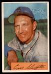 1954 Bowman #62  Enos Slaughter  Front Thumbnail