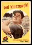 1959 Topps #35  Ted Kluszewski  Front Thumbnail