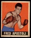 1948 Leaf #74  Fred Apostoli  Front Thumbnail