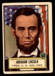 1952 Topps Look 'N See #4  Abraham Lincoln  Front Thumbnail