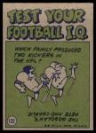 1972 Topps #122   -  Roger Staubach Pro Action Back Thumbnail