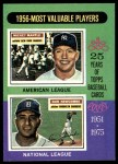 1975 Topps #194   -  Mickey Mantle / Don Newcombe 1956 MVPs Front Thumbnail