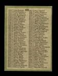 1971 Topps #499   Checklist 5 Back Thumbnail